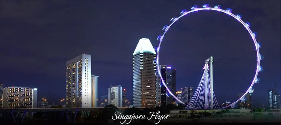 Singapore Flyer, places to visit in singapore